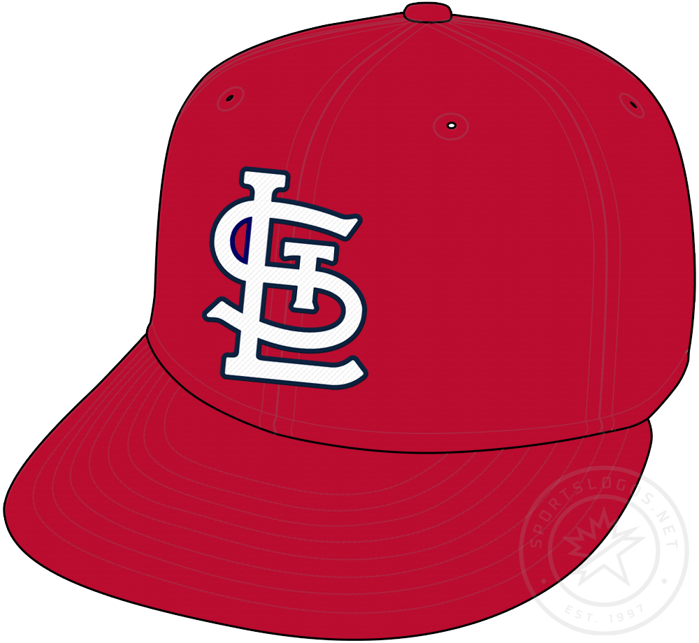 St. Louis Cardinals Cap Cap (2020-Pres) - St Louis Cardinals home and road red cap with new STL logo starting in 2020 SportsLogos.Net
