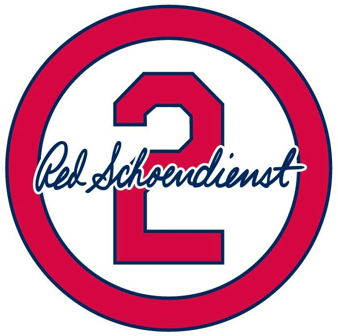 St. Louis Cardinals Logo Memorial Logo (2018) - Red Schoendienst memorial logo - a number 2 in red circle with signature, worn on jersey sleeve of St Louis Cardinals from June through end of 2018 season SportsLogos.Net