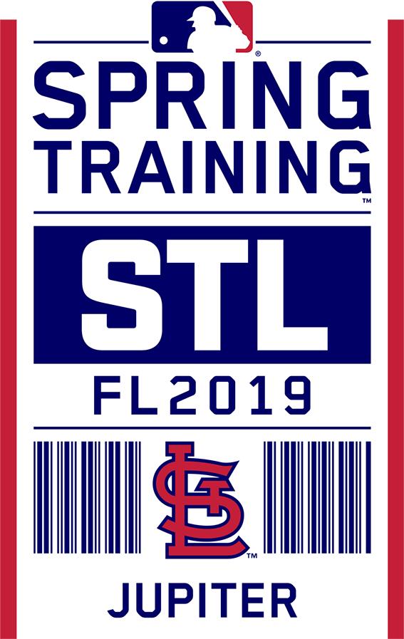 St. Louis Cardinals Logo Event Logo (2019) - St Louis Cardinals 2019 Spring Training Logo SportsLogos.Net