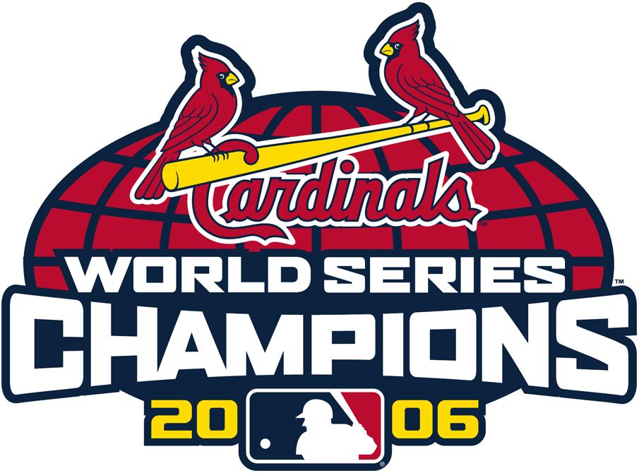 St. Louis Cardinals Logo Champion Logo (2006) -  2006 World Series Champions St. Louis Cardinals Logo SportsLogos.Net