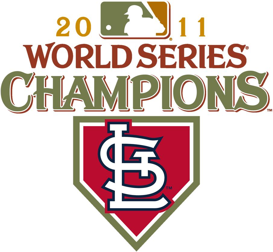 St. Louis Cardinals Logo Champion Logo (2011) - 2011 St Louis Cardinals World Series Champions Logo SportsLogos.Net