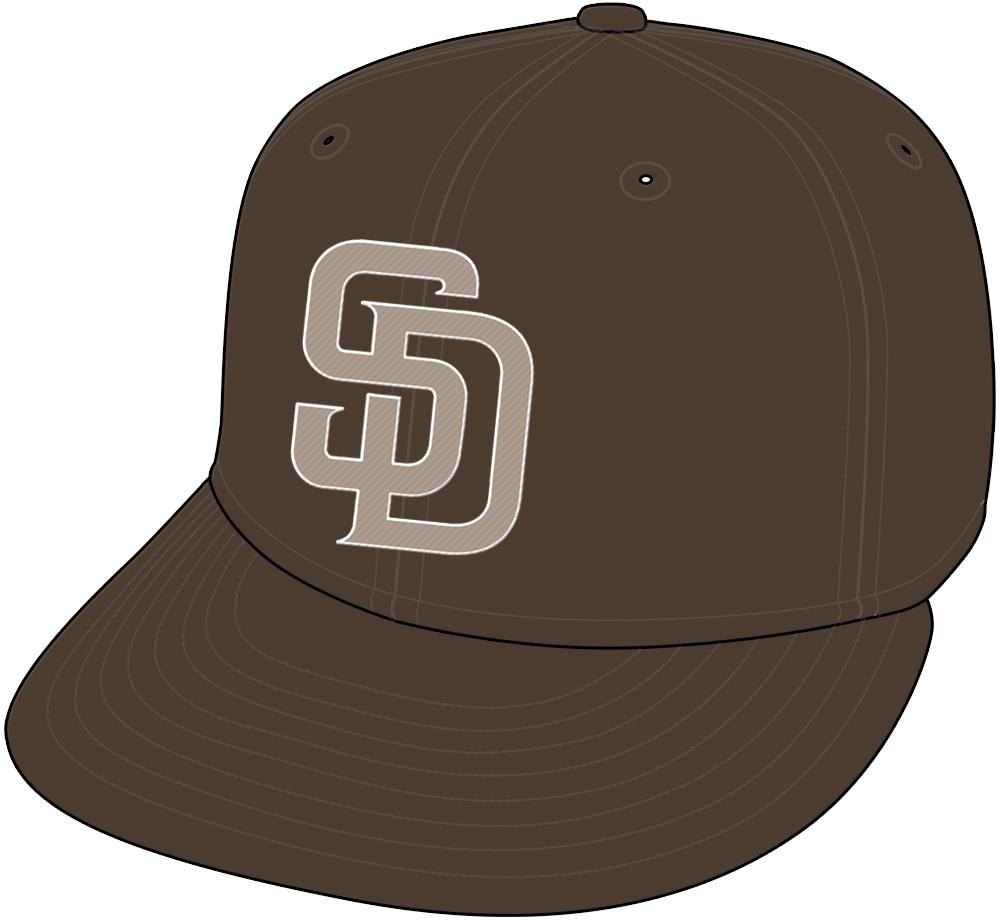 San Diego Padres Cap Cap (2011-2019) - San Diego Padres Sunday home alternate camo brown cap SportsLogos.Net