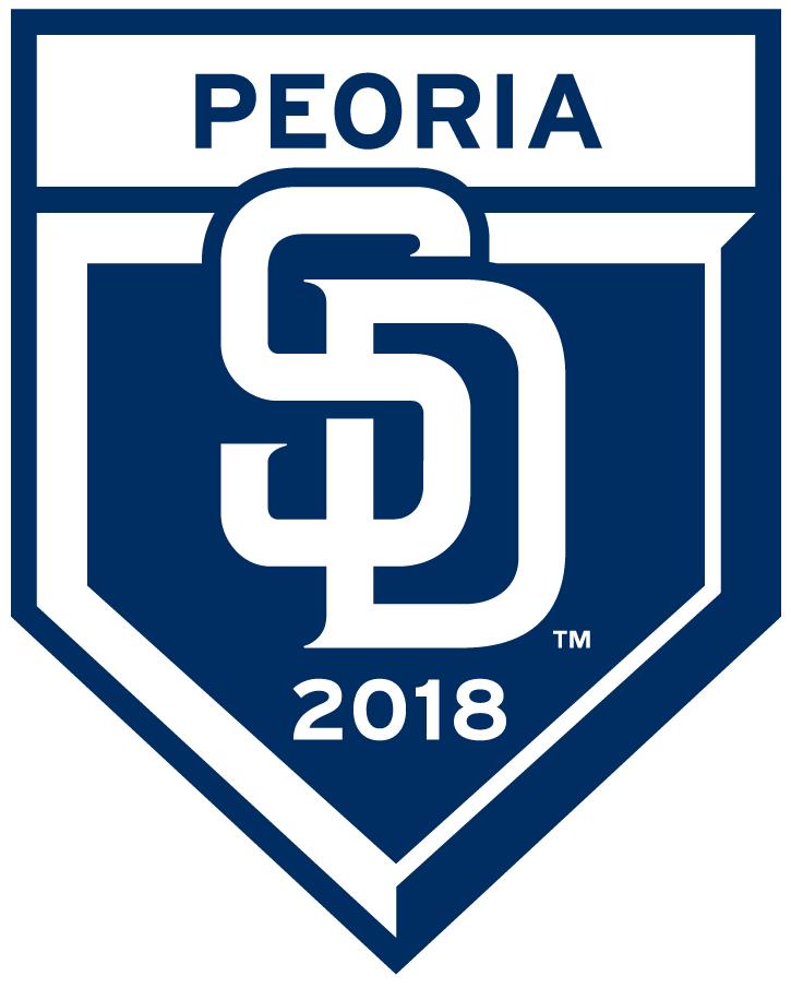 San Diego Padres Logo Event Logo (2018) - San Diego Padres 2018 Spring Training Logo SportsLogos.Net