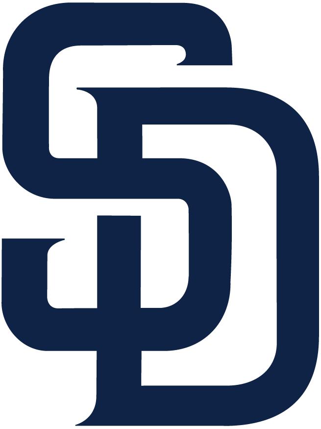 San Diego Padres Logo Primary Logo (2015-2019) - Interlocked SD in navy blue SportsLogos.Net