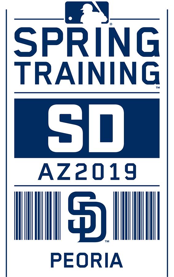 San Diego Padres Logo Event Logo (2019) - San Diego Padres 2019 Spring Training Logo SportsLogos.Net
