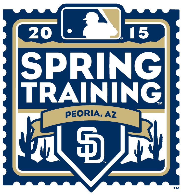 San Diego Padres Logo Event Logo (2015) - 2015 San Diego Padres Spring Training Logo SportsLogos.Net