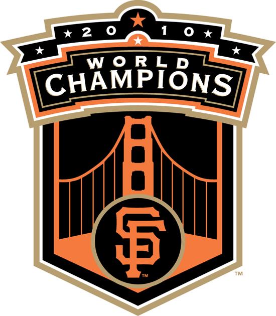 San Francisco Giants Logo Champion Logo (2010) - SF Giants 2010 World Champions logo SportsLogos.Net