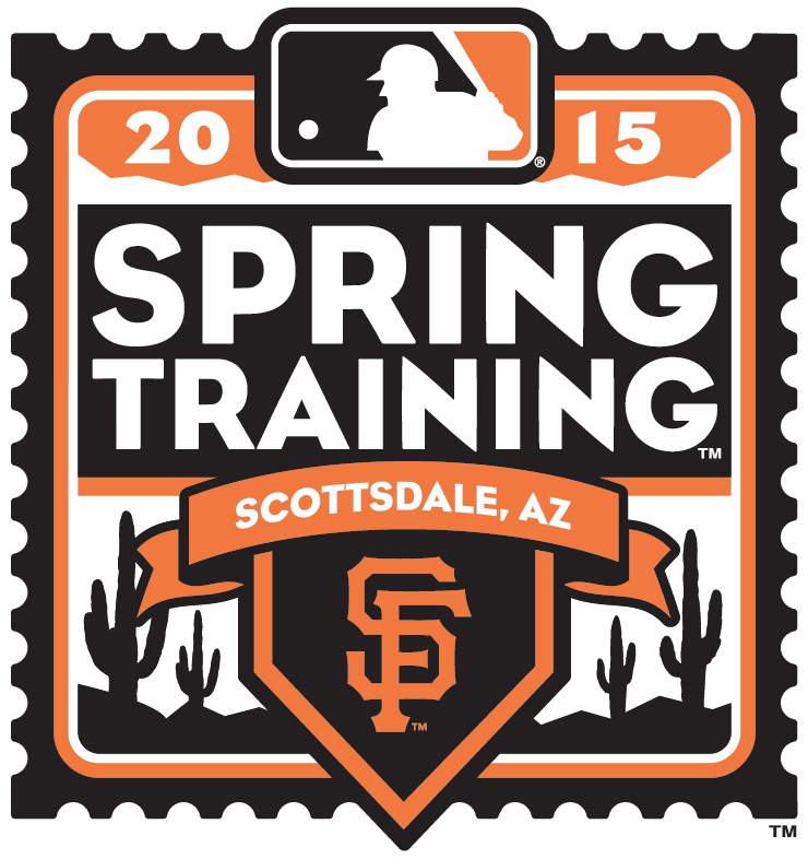 San Francisco Giants Logo Event Logo (2015) - 2015 San Francisco Giants Spring Training Logo SportsLogos.Net