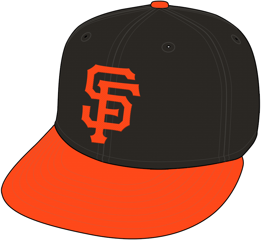 San Francisco Giants Cap Cap (2010-Pres) - Alternate Cap SportsLogos.Net