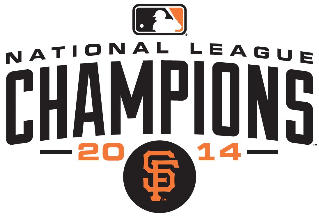 San Francisco Giants Logo Champion Logo (2014) - San Francisco Giants 2014 National League Champions logo SportsLogos.Net