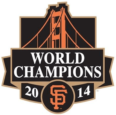 San Francisco Giants Logo Champion Logo (2014) - San Francisco Giants 2014 World Series Champions logo (Team Version) SportsLogos.Net