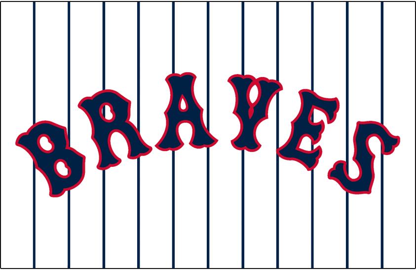 Boston Braves Logo Jersey Logo (1927-1928) - Home SportsLogos.Net