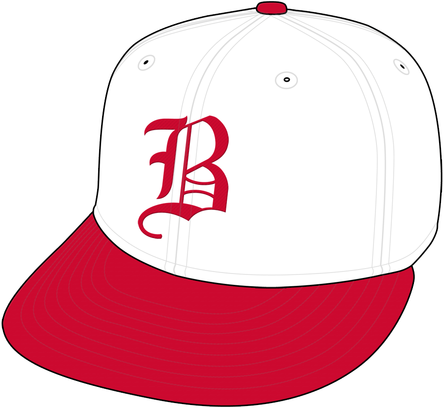 Boston Braves Cap Cap (1933) - Home Cap SportsLogos.Net