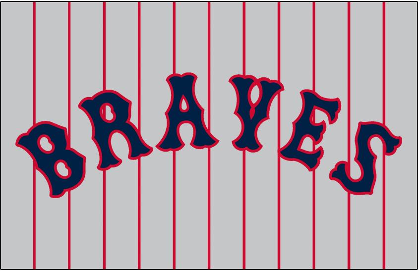 Boston Braves Logo Jersey Logo (1926-1927) - Road SportsLogos.Net