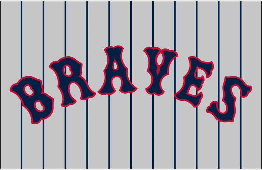 Boston Braves Logo Jersey Logo (1925) - Road SportsLogos.Net