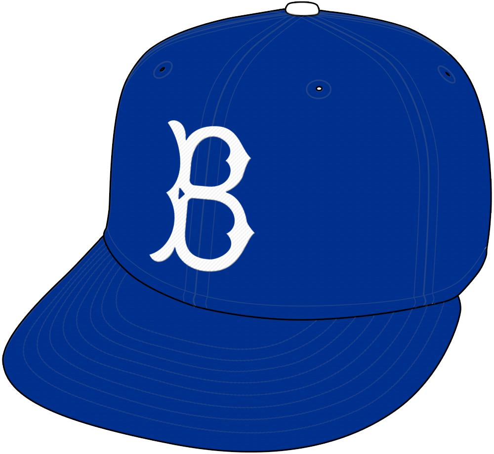 Brooklyn Dodgers Cap Cap (1949-1957) -  SportsLogos.Net