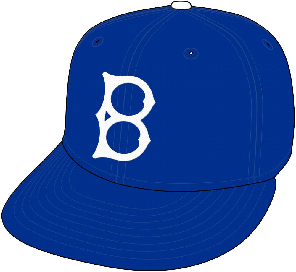 Brooklyn Dodgers Cap Cap (1938-1955) -  SportsLogos.Net