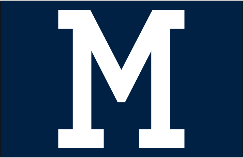 Milwaukee Braves Logo Cap Logo (1953-1965) -  SportsLogos.Net