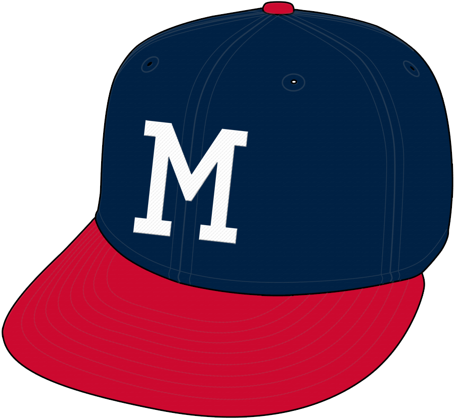 Milwaukee Braves Cap Cap (1953-1965) -  SportsLogos.Net