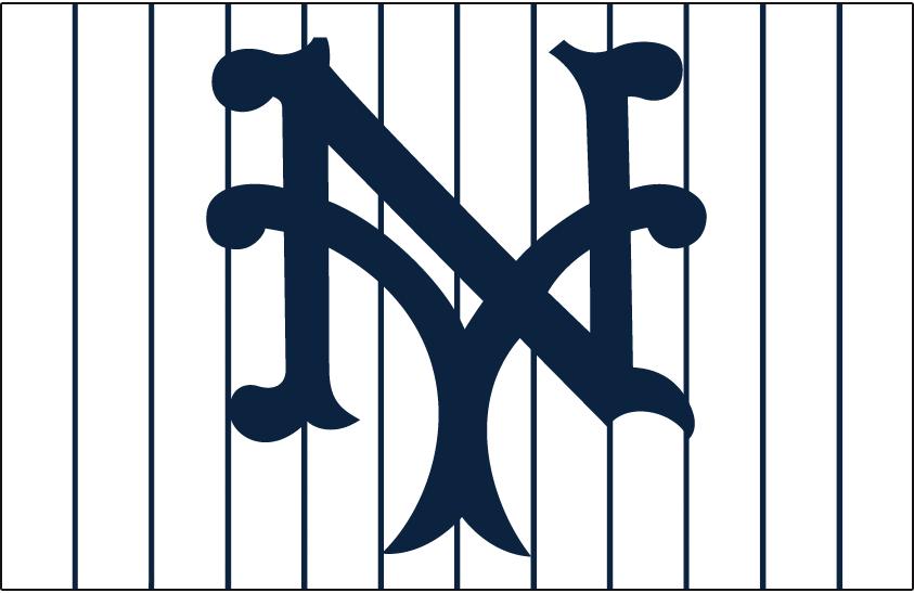 New York Giants Logo Cap Logo (1917-1922) - Home cap logo for New York Giants SportsLogos.Net