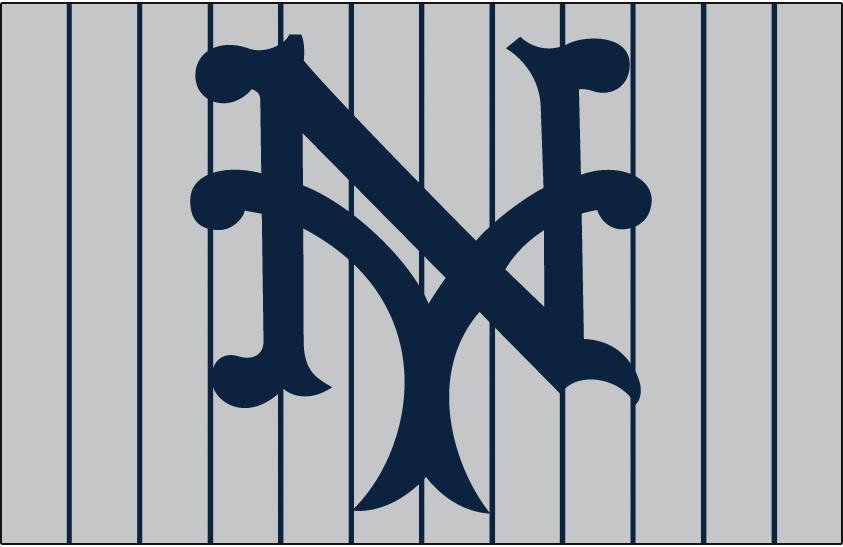 New York Giants Logo Cap Logo (1921-1922) - Road cap logo for New York Giants SportsLogos.Net