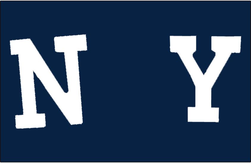 New York Giants Logo Primary Dark Logo (1904-1907) -  SportsLogos.Net