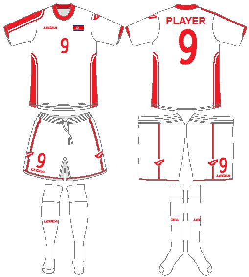 Korea DPR Uniform Road Uniform (2010) -  SportsLogos.Net