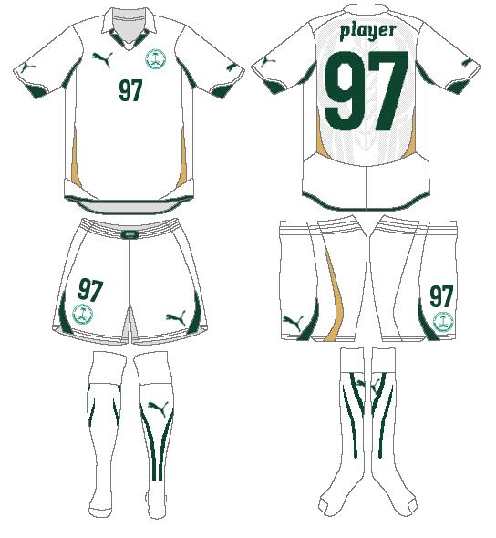 Saudi Arabia Uniform Home Uniform (2010) -  SportsLogos.Net