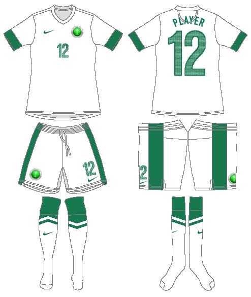 Saudi Arabia Uniform Home Uniform (2012-2014) -  SportsLogos.Net