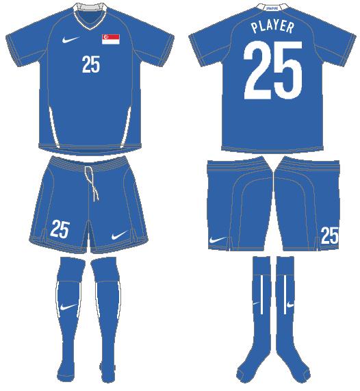 Singapore Uniform Road Uniform (2008-2010) -  SportsLogos.Net