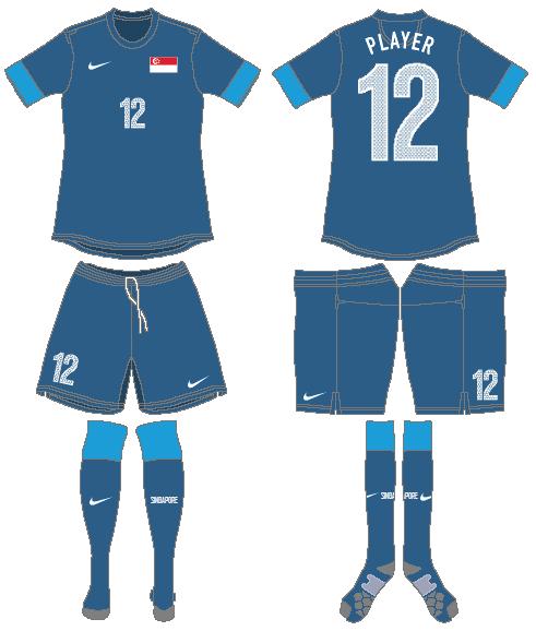 Singapore Uniform Road Uniform (2012-2014) -  SportsLogos.Net