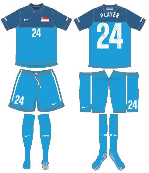Singapore Uniform Road Uniform (2010-2012) -  SportsLogos.Net