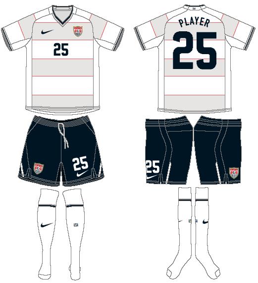 United States Uniform Home Uniform (2008-2010) -  SportsLogos.Net