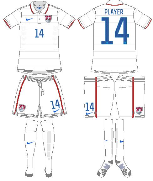 United States Uniform Home Uniform (2014-2015) -  SportsLogos.Net