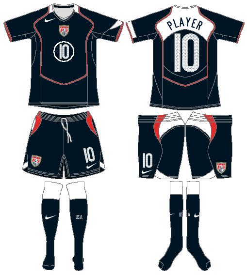 United States Uniform Road Uniform (2004-2006) -  SportsLogos.Net