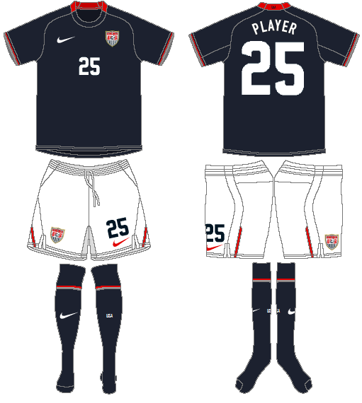 United States Uniform Road Uniform (2008-2010) -  SportsLogos.Net