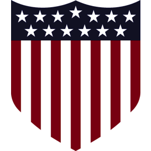 United States Logo Anniversary Logo (2013) - Stars and Stripes shield - worn on US Soccer team jerseys during 100th anniversary only SportsLogos.Net