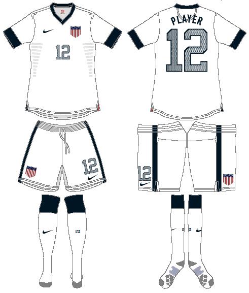 United States Uniform Home Uniform (2013) -  SportsLogos.Net