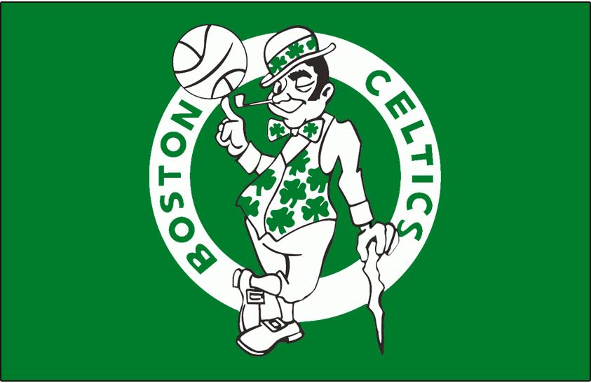 Boston Celtics Logo Primary Dark Logo (1974/75-1995/96) -  SportsLogos.Net