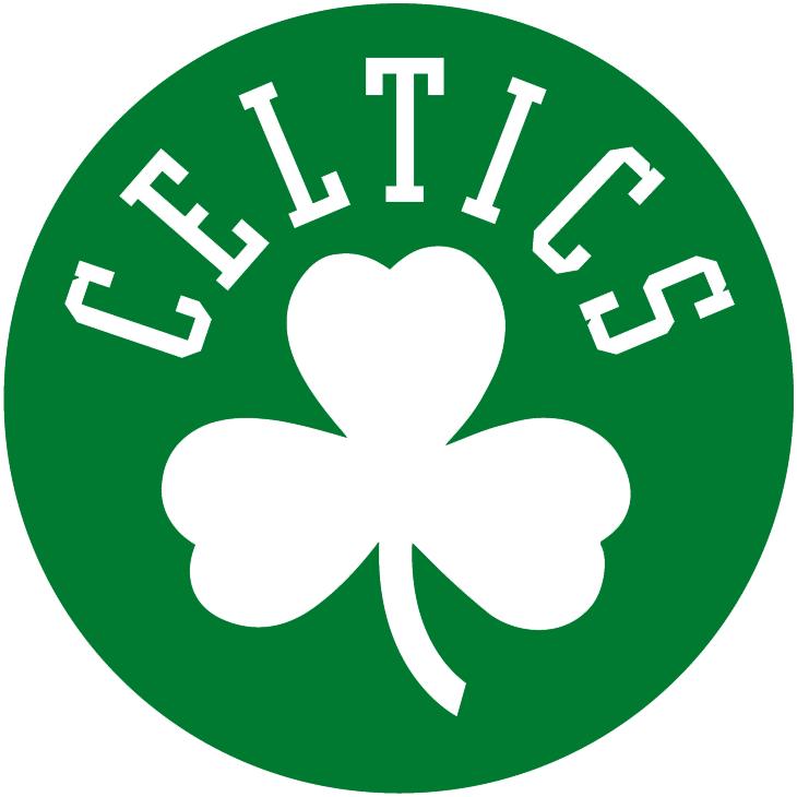 Boston Celtics Logo Alternate Logo (1998/99-Pres) - Celtics and clover in white on a green circle SportsLogos.Net