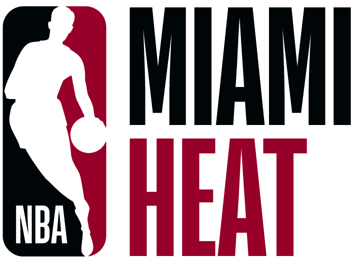 Miami Heat Logo Misc Logo (2017/18) - Note: This is not a legitimate team logo, it was originally created by this site for an April Fool's Day joke using the NBA's standardized logo system in 2018 SportsLogos.Net