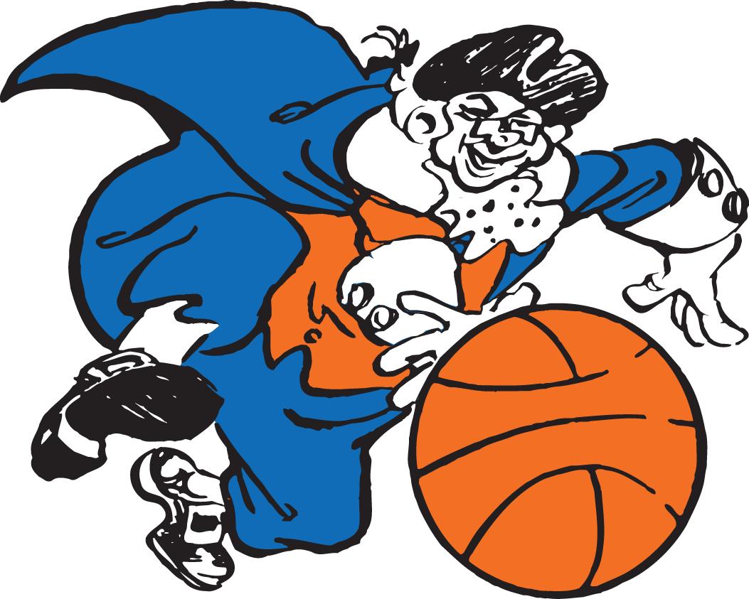 New York Knicks Logo Primary Logo (1946/47-1963/64) -