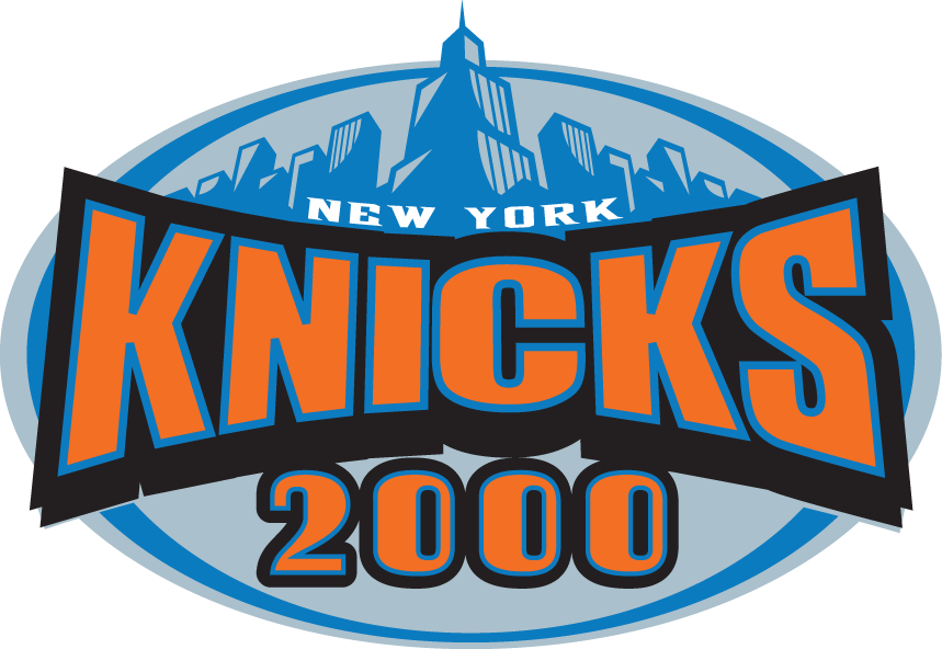New York Knicks Logo Special Event Logo (1999/00) - New York Knicks 2000 SportsLogos.Net