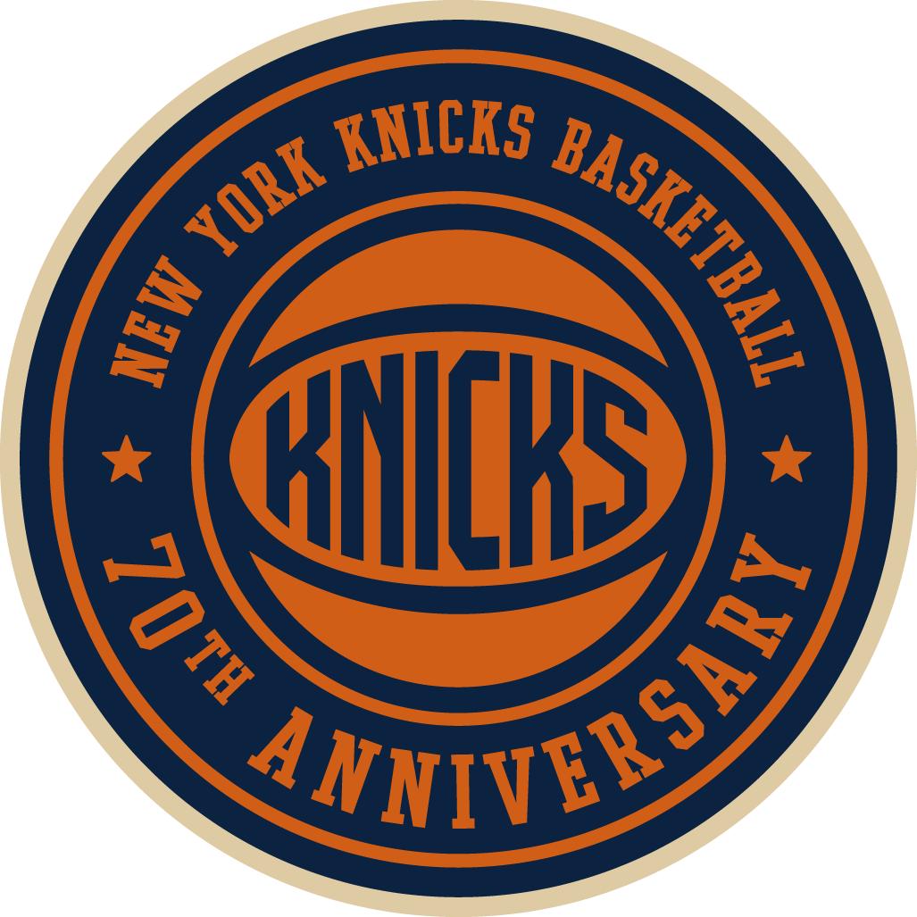 New York Knicks Anniversary Logo - National Basketball ...