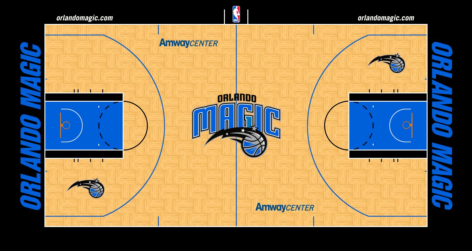 Nba Logos 2017 >> Orlando Magic Stadium Logo - National Basketball Association (NBA) - Chris Creamer's Sports ...