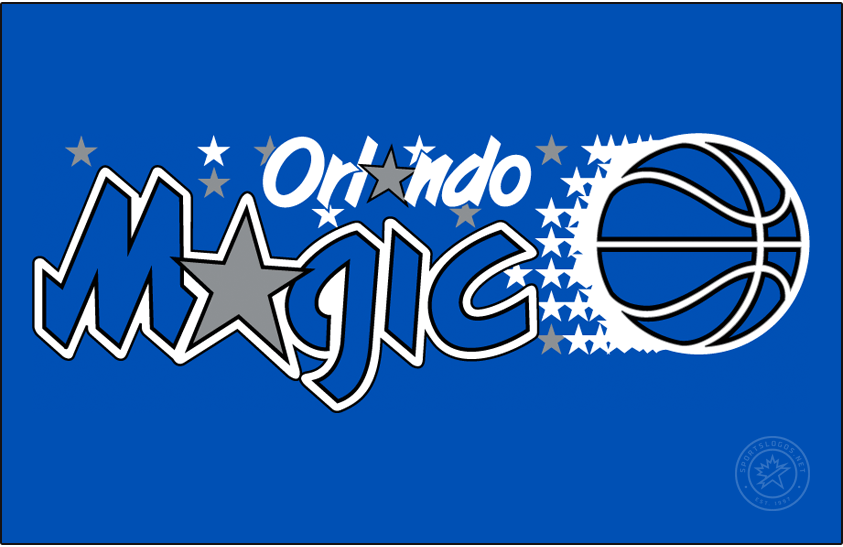 Orlando Magic Logo Primary Dark Logo (1989/90-1997/98) -  SportsLogos.Net