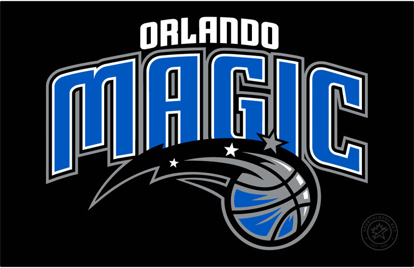 Orlando Magic Logo Primary Dark Logo (2010/11-Pres) -  SportsLogos.Net