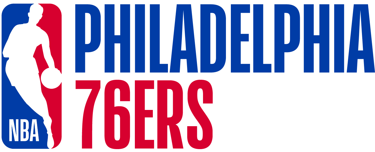 Philadelphia 76ers Logo Misc Logo (2017/18) - Note: This is not a legitimate team logo, it was originally created by this site for an April Fool's Day joke using the NBA's standardized logo system in 2018 SportsLogos.Net