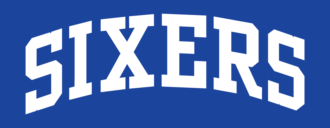 Philadelphia 76ers Logo Jersey Logo (2009/10-2014/15) -  SportsLogos.Net