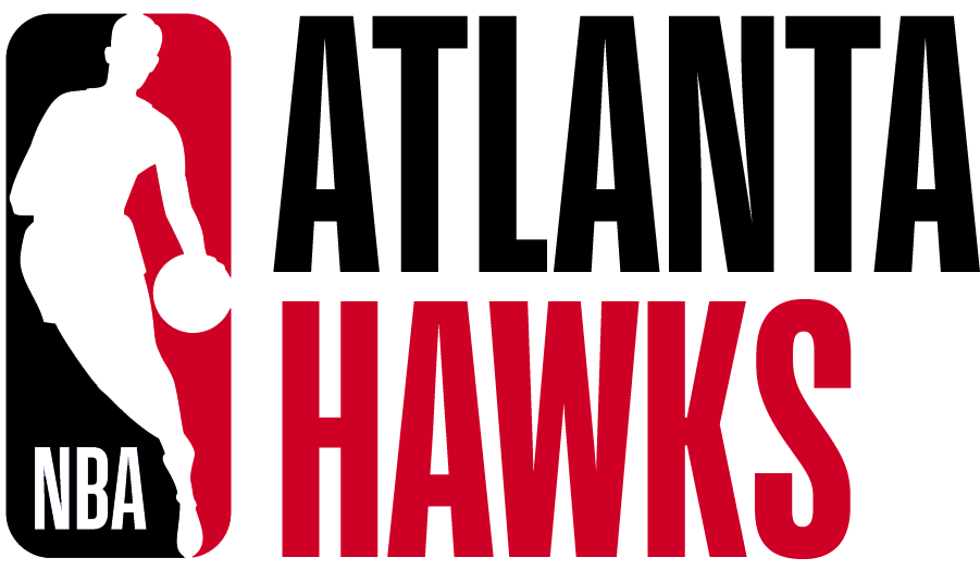 Atlanta Hawks Logo Misc Logo (2017/18) - Note: This is not a legitimate team logo, it was originally created by this site for an April Fool's Day joke using the NBA's standardized logo system in 2018 SportsLogos.Net
